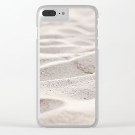 Sand Photography, Beach Photograph, Coastal Photo, Cream Beige Brown Neutral Clear iPhone Case