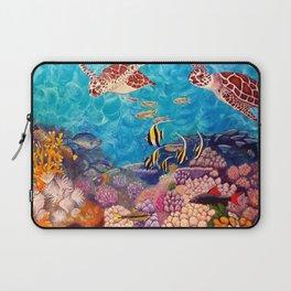 Zach's Seascape - Sea turtles Laptop Sleeve