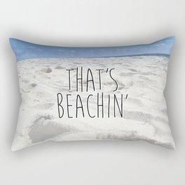 That's Beachin' Rectangular Pillow
