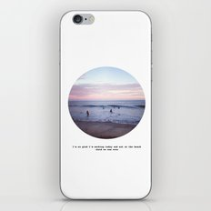 Things people don't say about the beach iPhone & iPod Skin