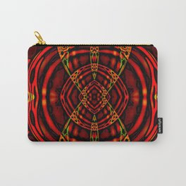 Red Maniac Carry-All Pouch