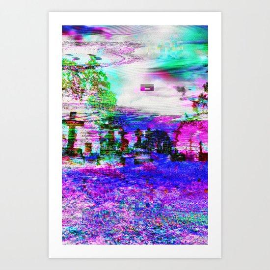 Elucidate (collaboration w/ Alea Bushardt) Art Print