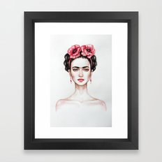 Frieda Framed Art Print