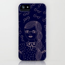 You and I make a fine 'SPECTACLE'. iPhone Case