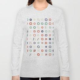 RAND SHAPES #72: Procedural Art Long Sleeve T-shirt