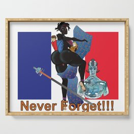 Never Forget France Colonization by: Matthew J Powell Serving Tray