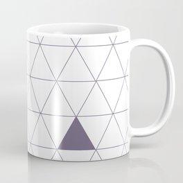 Triangles 123, Indigo Coffee Mug