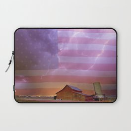 American Country Storm Laptop Sleeve
