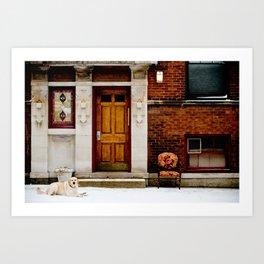 735 W. Oakdale Avenue Art Print