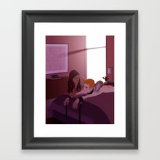 Aftercare Framed Art Print