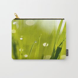 Wonderful Morning Dew Carry-All Pouch