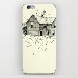 home blown iPhone Skin