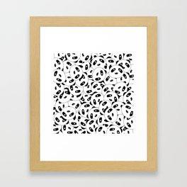 Pandas x 9999 (Patterns Please) Framed Art Print