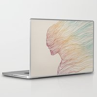 elegant Laptop & iPad Skins featuring FADE by Huebucket