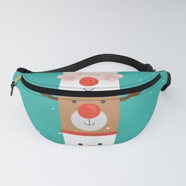 Holiday Totem Fanny Pack