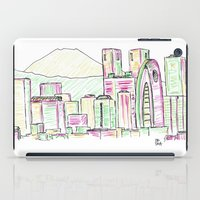 tokyo iPad Cases featuring Tokyo by Ursula Rodgers