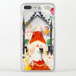 The Cathedrals of Fifth Avenue by Florine Stettheimer, 1931 Clear iPhone Case