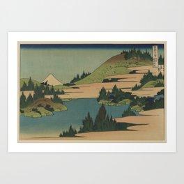 Hokusai  - Fuji Art Print