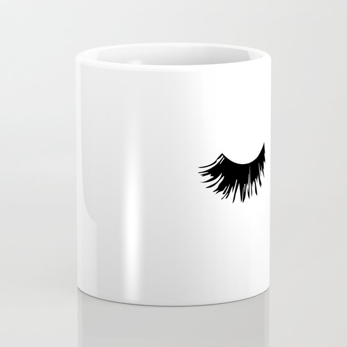 Eyelash Print Coffee Mug