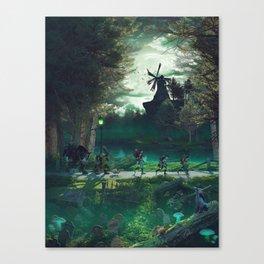 TG (Art) Canvas Print