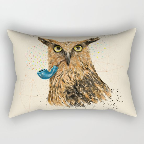 Mr.Owl V Rectangular Pillow