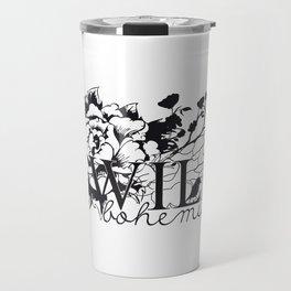 Wild bird Travel Mug