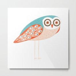 Long Legged Owl Metal Print