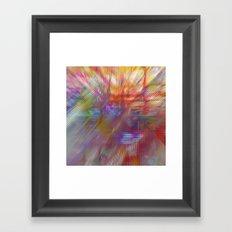 Textural Mountains 2 Framed Art Print