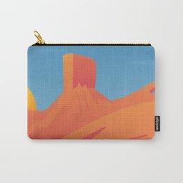 Desert Valley Landscape Scene Carry-All Pouch