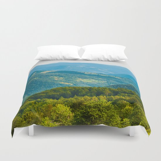 mountain shepherd Duvet Cover