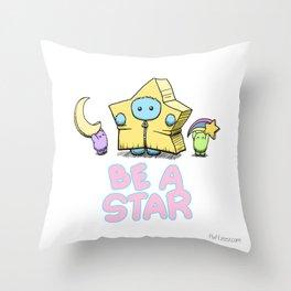 Be A Star Throw Pillow