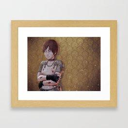 Resident Evil - Rebecca Chambers Tribute Framed Art Print