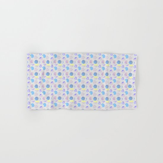 Dots Pattern - JUSTART © Hand & Bath Towel