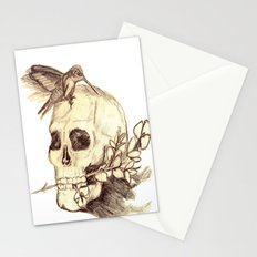 flying away with the time Stationery Cards