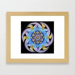 Eye wheel / Silmaratas Framed Art Print