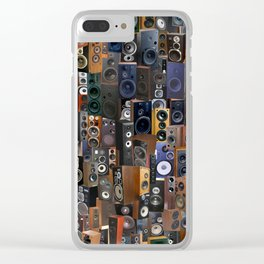 WOOFERS AND TWEETERS! Clear iPhone Case