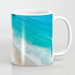 Manhattan Beach Drone Shot Coffee Mug