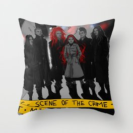 Mitternacht - THE SCENE OF THE CRIME Throw Pillow