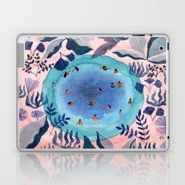 Emerald jungle pool Laptop & iPad Skin