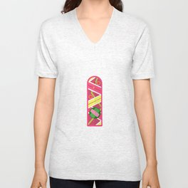 Back to the future Overboard Unisex V-Neck