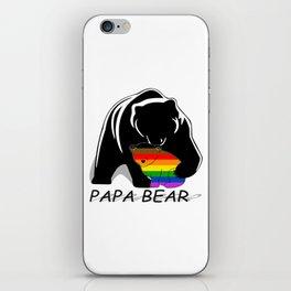 Papa Bear Philadelphia Gay iPhone Skin