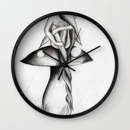The Twist Wall Clock