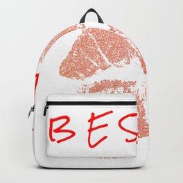 BESAME / Kiss Me Spanish / Rose Gold Lips / Glitter Backpack