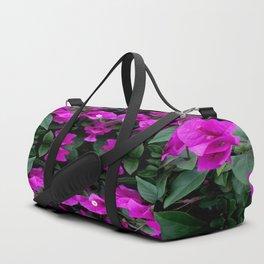 AWESOME AMETHYST PURPLE BOUGAINVILLEA VINES Duffle Bag