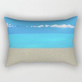 """ CARIBBEAN DREAM "" Rectangular Pillow"