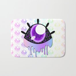 Melty Monster Eye Bath Mat