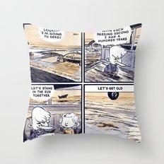 Laugh Menu 79 Throw Pillow