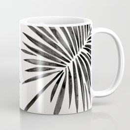 Tropical Fan Palm – Black Coffee Mug
