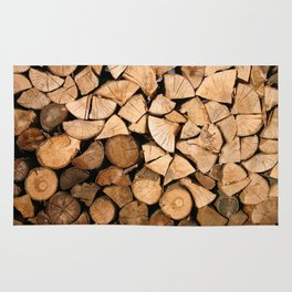 Wood Profile Rug