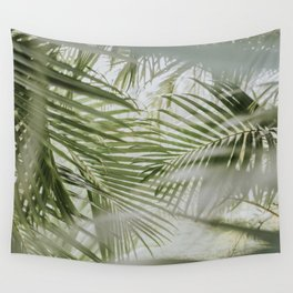 Aloha Palm Leaves // Haiku, Maui Wall Tapestry